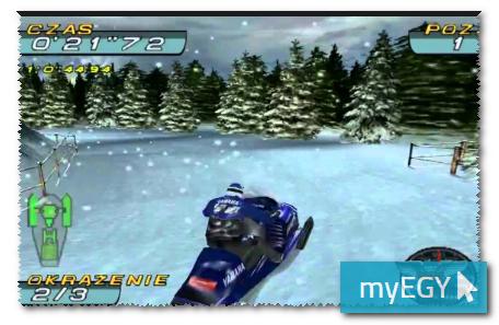 صورة من اعدادات لعبة موتسكلات الجليد