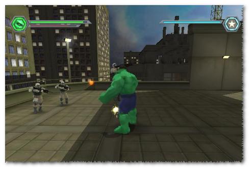 صورة من لعبة الرجل الاخضر
