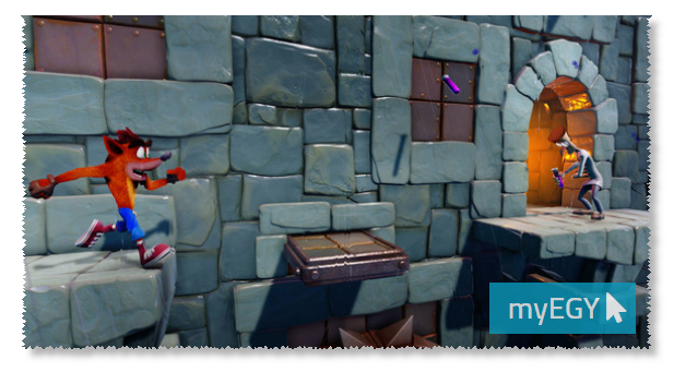 صورة من احداث لعبة كراش بانديكوت