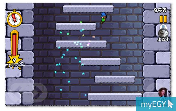 صورة من اعدادات لعبة الرجل النطاط
