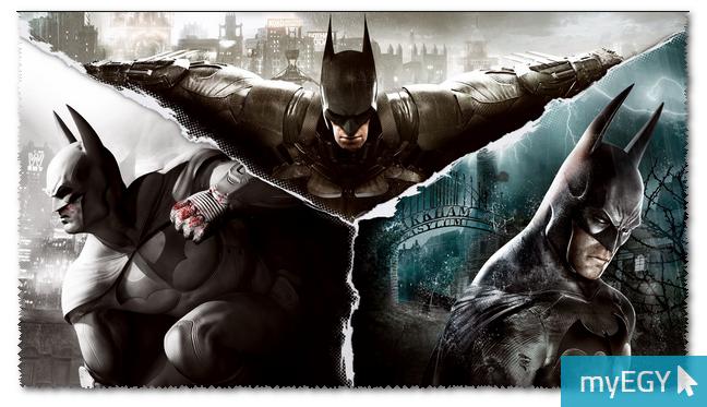 صورة من اعدادات لعبة باتمان