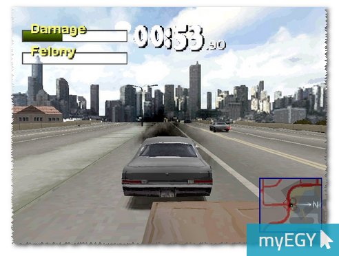 صورة من اعدادات لعبة درايفر