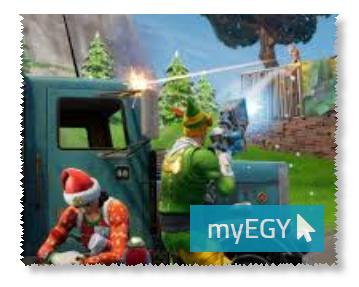 صورة من مستويات لعبة فورت نايت