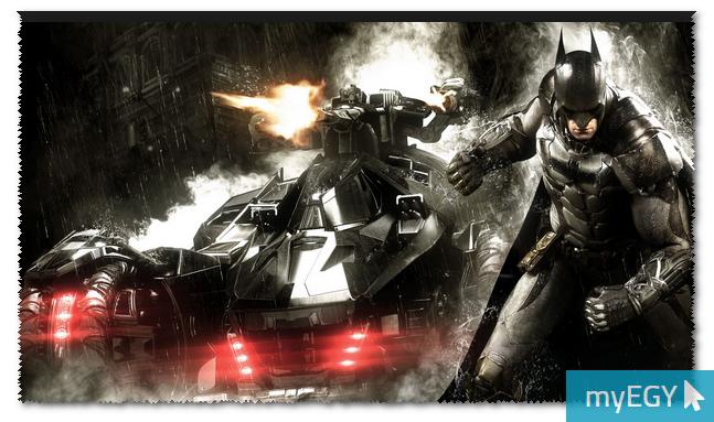 صورة من واجهة لعبة باتمان