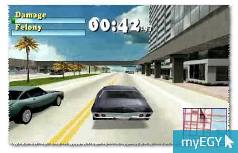 صورة من واجهة لعبة درايفر